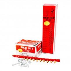میخ و چاشنی 32 میلیمتری بتن رد هیت (بسته 100 عددی )red hit
