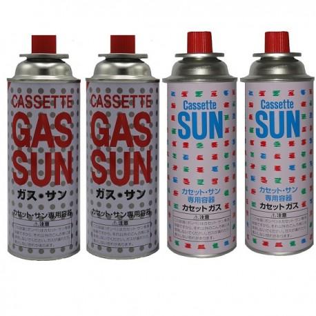 کپسول گاز 220 گرمی SUN بسته 4 عددی