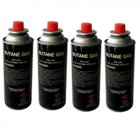 کپسول گاز 220 گرمی مدل PR بسته 4 عددی