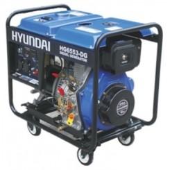 موتور برق 5.3 کیلووات گازوئیلی مدل HG6553-DG