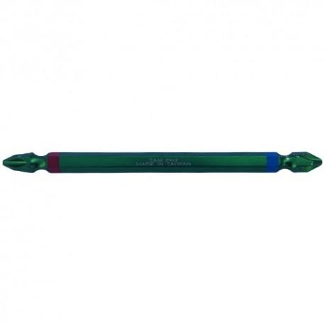 نوک پیچگوشتی 11 سانت چهار سو سبز تی ای ام مدل P00292