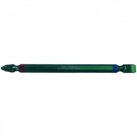 نوک پیچگوشتی 11 سانت دو سو چهار سو سبز تی ای ام مدل P00293