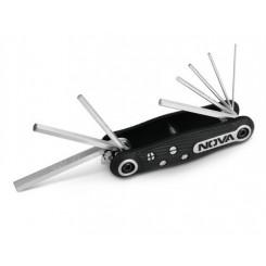 آچار آلن چاقویی شش گوش 8 عددی نووا مدل NTK1140